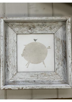 Sweet Gumball Sweet Gumball Framed Pig