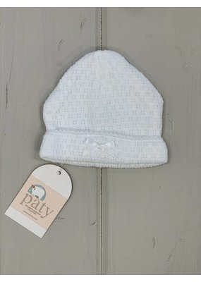 Paty Paty White Sailor Cap w/ Bow