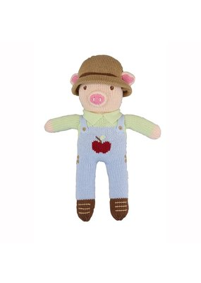 Zubel Zubel Mac the Farmer Pig 12 inch