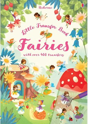 Usborne Little Transfer Book Fairies