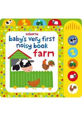 Usborne Baby's Very First Noisy Book Farm