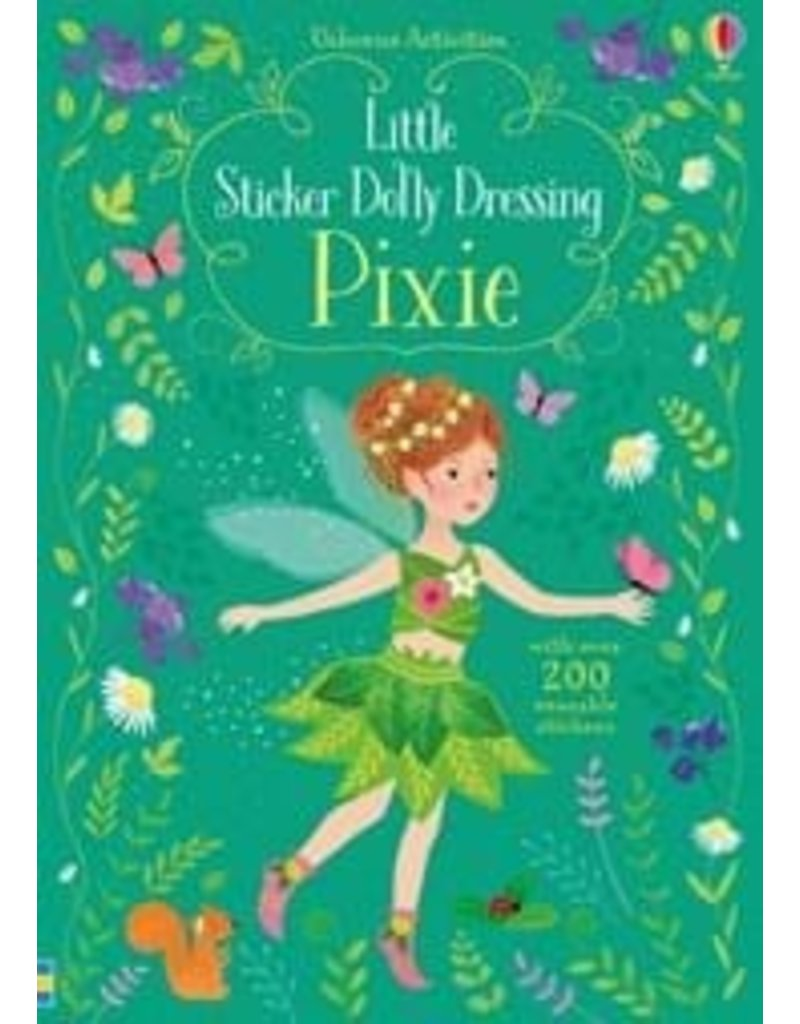 Usborne Little Sticker Dolly Dressing Pixies