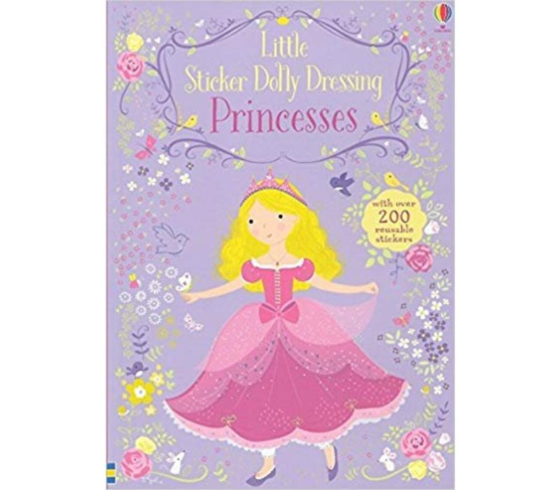 Little Sticker Dolly Dressing Princesses