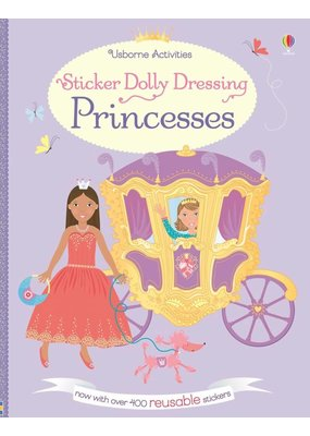 Usborne Sticker Dolly Dressing Princesses