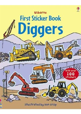 Usborne Usborne Diggers First Sticker Book