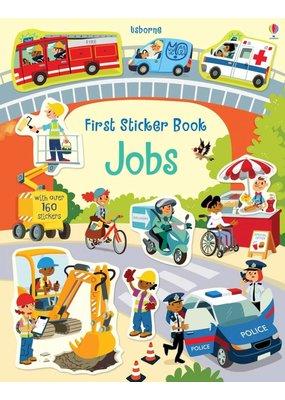 Usborne Usborne Jobs First Sticker Book