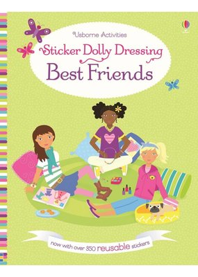 Usborne Usborne Best Friends Sticker Dolly Dressing