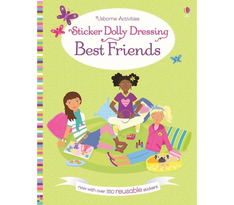 Usborne Best Friends Sticker Dolly Dressing