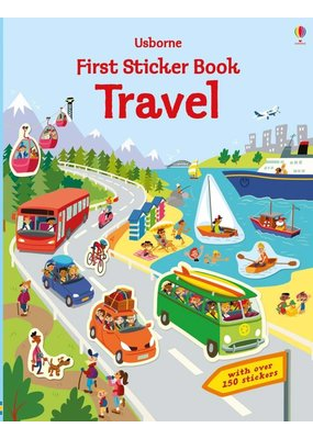 Usborne Usborne Travel Sticker Book