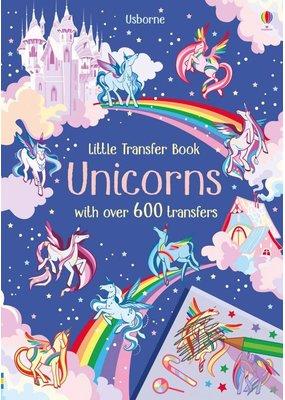 Usborne Little Transfer Book Unicorns