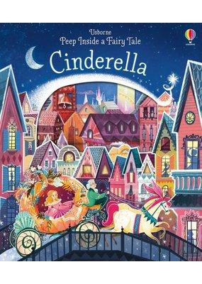 Usborne Peek Inside Cinderella Book