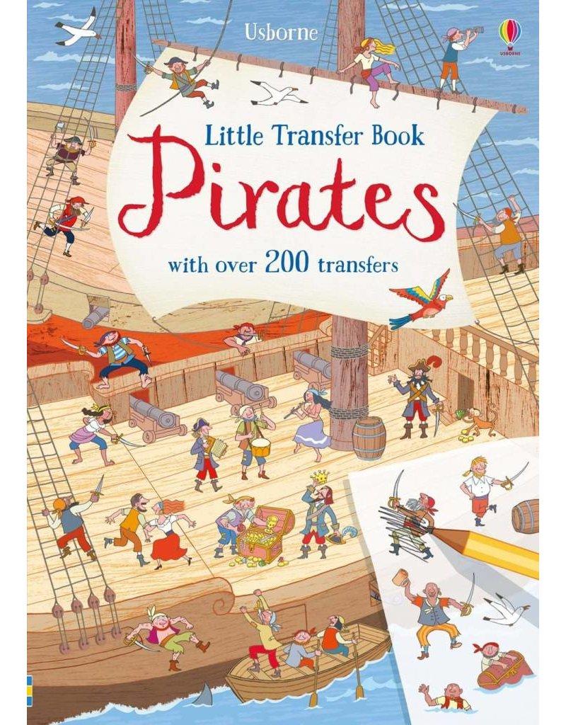 Usborne Little Transfer Book Pirates