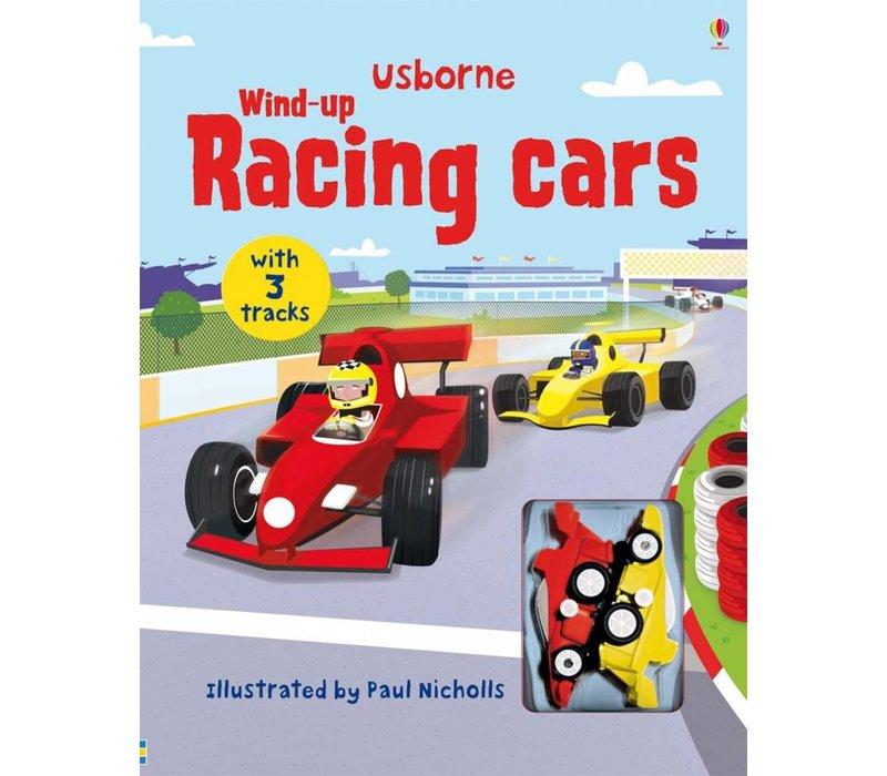 Wind-Up Race Car Book
