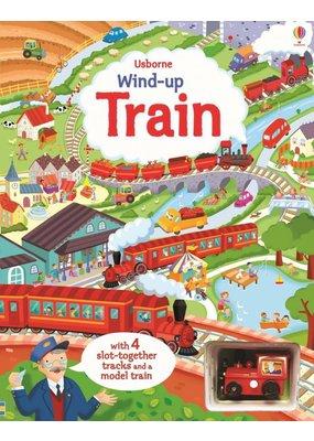 Usborne Wind-Up Train Book