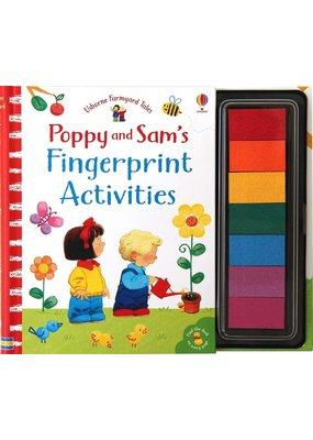 Usborne Poppy and Sam's Fingerprint Activities