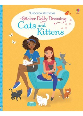 Usborne Sticker Dolly Dressing Cats & Kittens