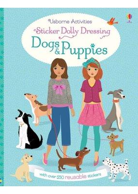 Usborne Sticker Dolly Dressing Dogs & Puppies