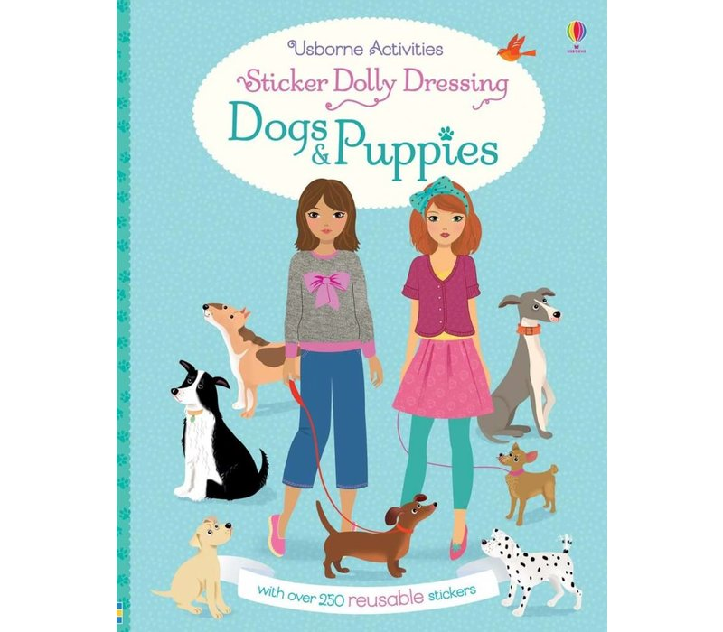 Sticker Dolly Dressing Dogs & Puppies