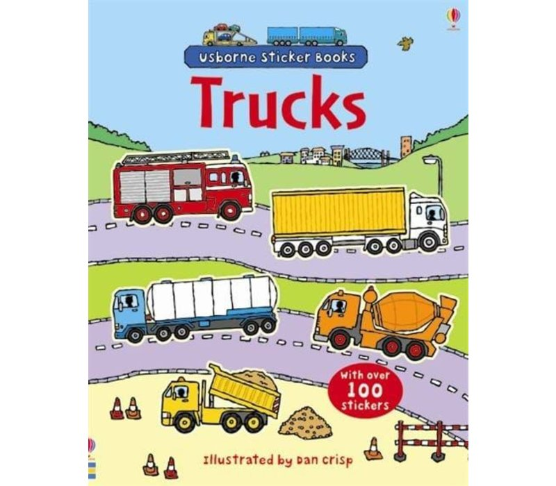 First Sticker Book Trucks