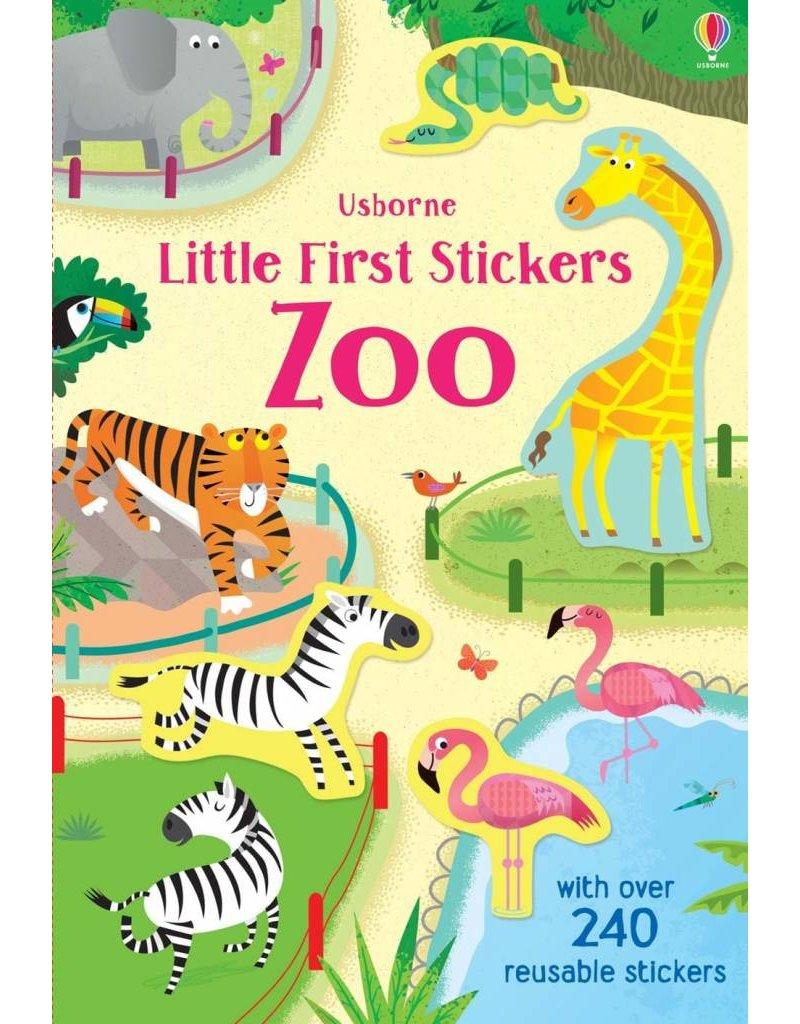 Usborne Little Stickers Zoo