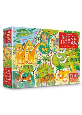 Usborne At the Zoo Book & Jigsaw Puzzle