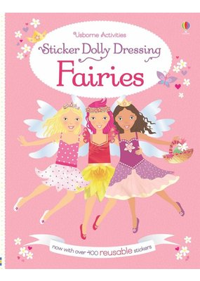 Usborne Sticker Dolly Dressing Fairies