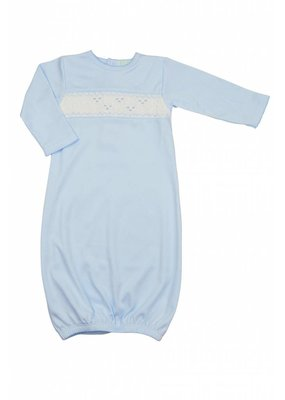 Little Threads Baby Blue Gown