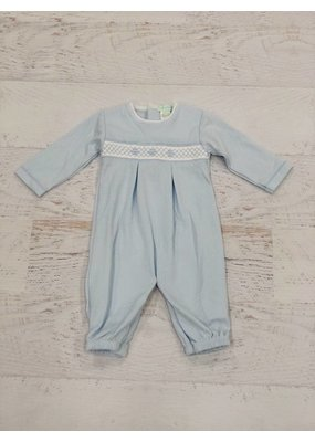Little Threads Sweet Blue Smocked Converter