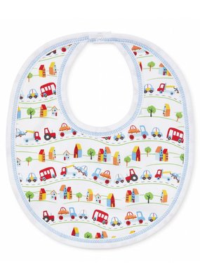 Kissy Kissy Kissy Kissy Traffic Bib