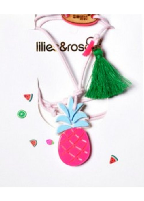 Lillies & Roses L&R Pineapple Necklace