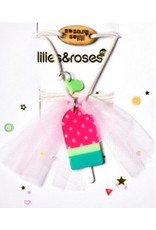 Lillies & Roses L&R Watermelon Popsicle Necklace