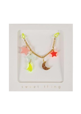 Meri Meri Stars & Moon Necklace