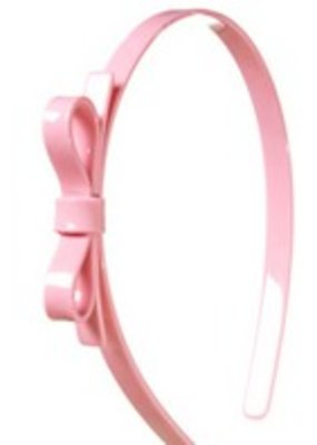 Lillies & Roses L&R Thin Pink Bow Headband
