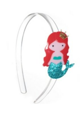 Lillies & Roses L&R Blue Mermaid Headband