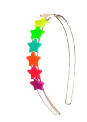 Lillies & Roses L&R Multicolor Star Headband