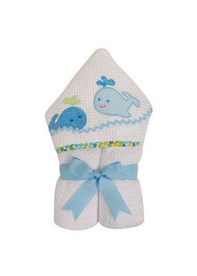 3 Marthas 3 Marthas Blue Whale Everykid Towel