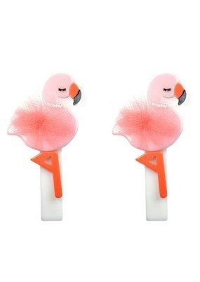 Lillies & Roses L&R Flamingo Hair Clip