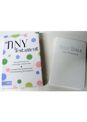 White Keepsake Bible