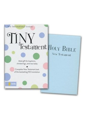 Blue Keepsake Bible