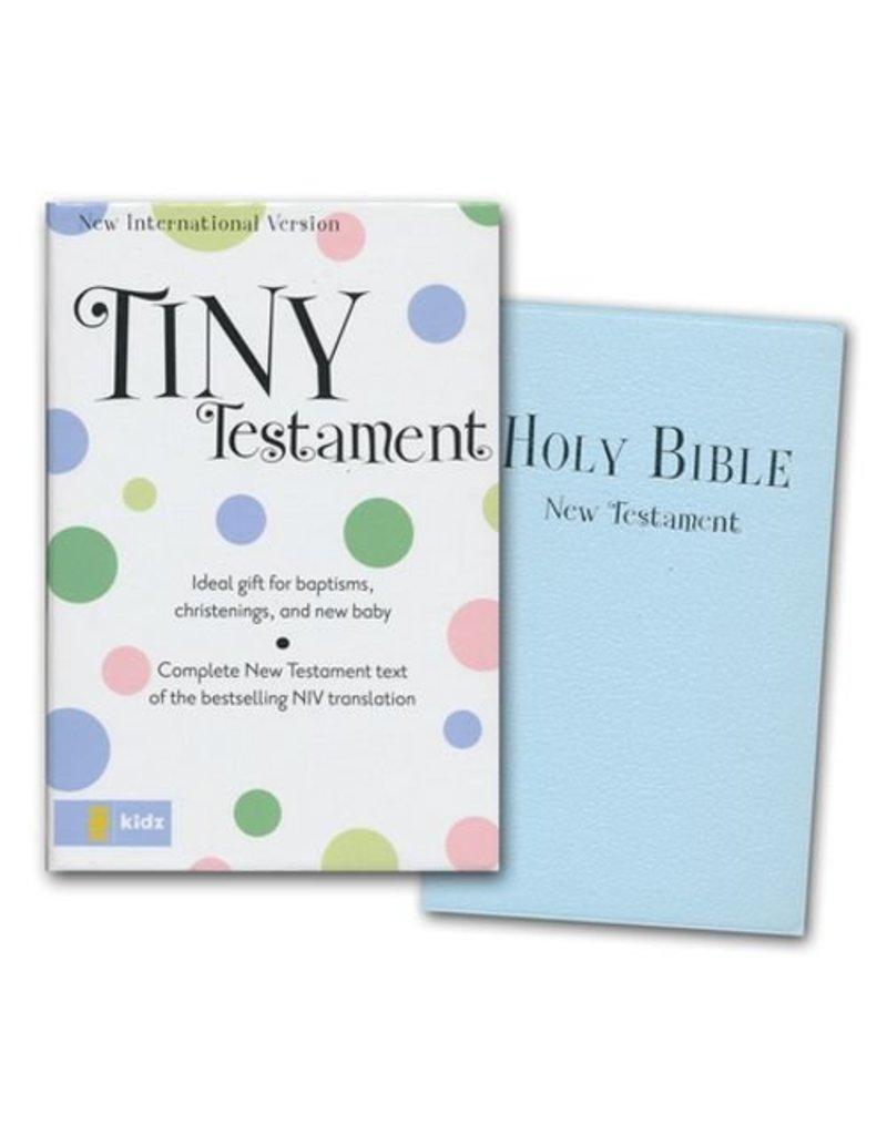 Blue Keepsake Bible