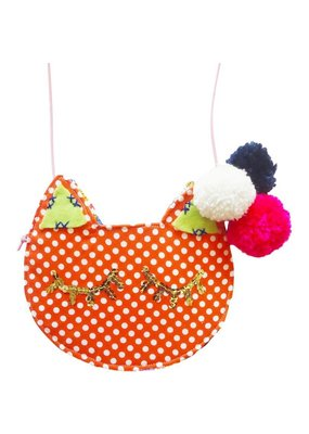 Gaia For Women Handmade Kitten Purse Figaro