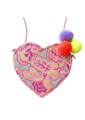 Gaia Margaux Handmade Heart Purse