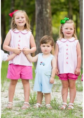 Lullaby Set Knit Watermelon Top with Bloomer