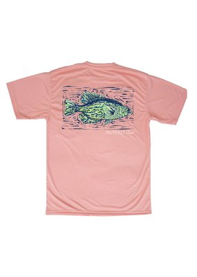 Properly Tied Melon Crappie Performance Tee