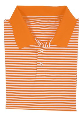 Properly Tied Orange Gameday Polo