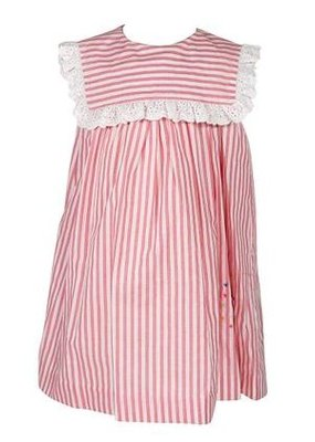 Sophie & Lucas Red Stripe Firecracker Dress