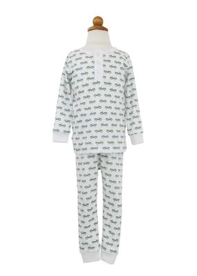 Lila and Hayes Jack Jeeps Pajama Set