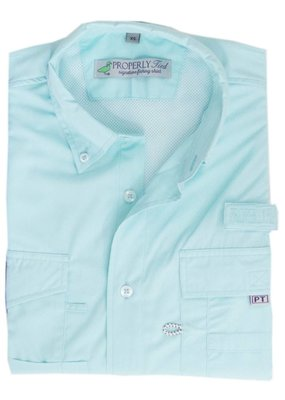 Properly Tied Seafoam Performance Fishing Shirt