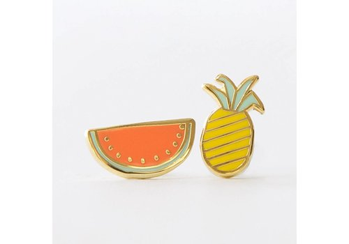 Yellow Owl Workshop Earrings Fruits