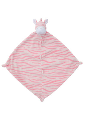 Angel Dear Angel Dear Pink Zebra Lovie